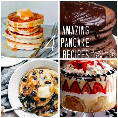 4 amazing pancake recipes