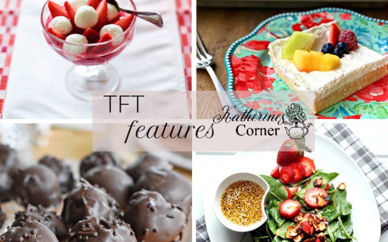 summer fruit and TFT party