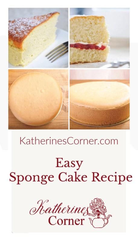 easy sponge cake recipe