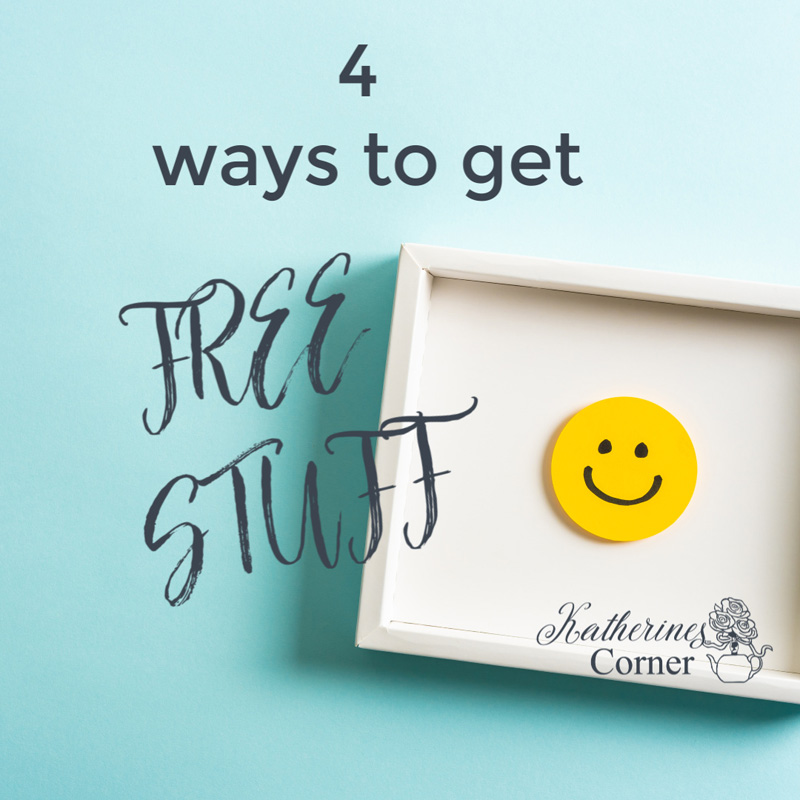 smiley face, get free stuff