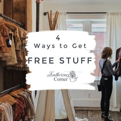 4 ways to get free stuff katherines corner
