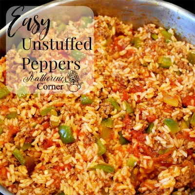 easy unstuffed peppers recipe