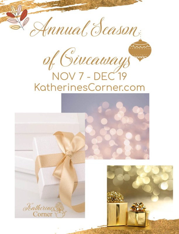 the annual season of giveaways at katherines corner