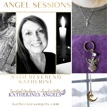 schedule an angel reading with reverend katherine