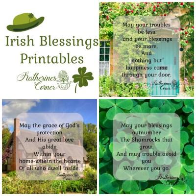 3 irish blessing printables