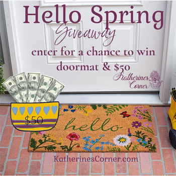 hello spring giveaway 3-20 – 4-20