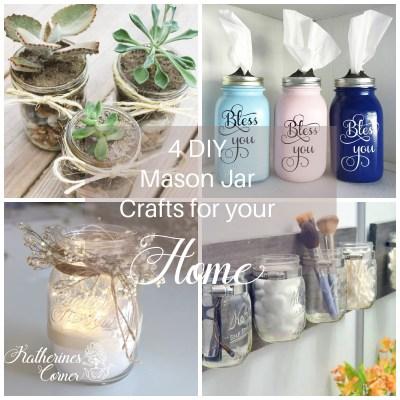 4 diy mason jar crafts for your home katherines corner