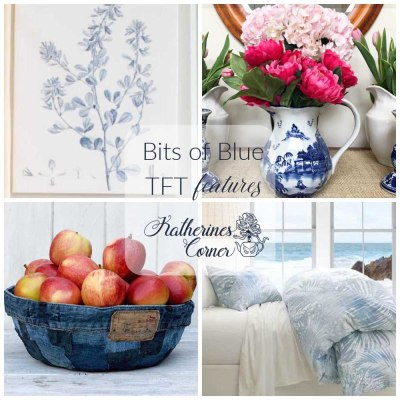 bits of blue and TFT blog hop link party