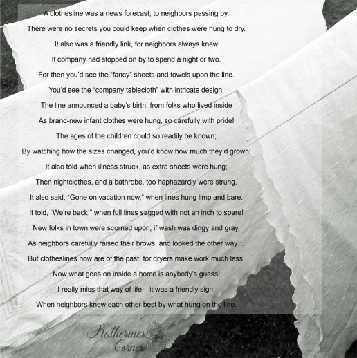 an ode to laundry poem