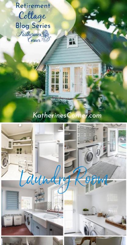 retirement cottage laundry room inspiration