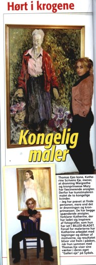 Featured in Billed Bladet Royal magazine article Denmark