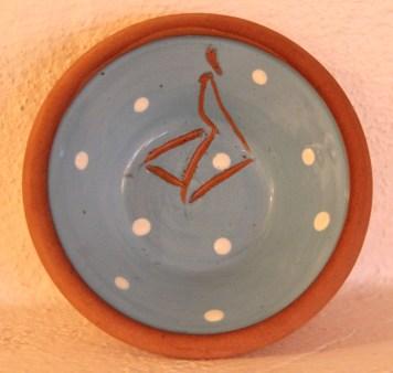 Little terracotta dish