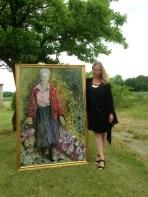 Portrait of Queen Margrethe of Denmark