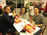 Obligatory post-flight In-N-Out trip at 11pm with our lovely hosts Tom and JiHea.