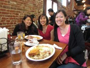 Met up with Jen and Christi, CBCM friends, at Dottie's! http://dotties.biz/