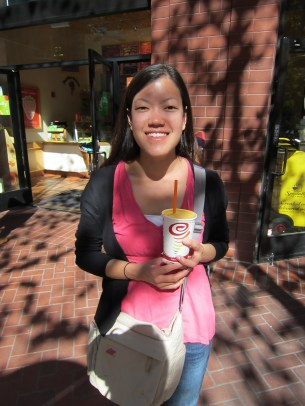 When I was at BU, I loved getting Jamba Juice at the GSU. Got my fix finally!
