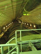 Hoover Dam water tunnels.