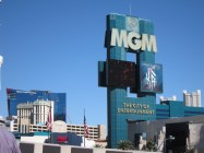 We left the MGM Grand...