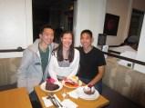 Met Eddie at Extraordinary Desserts. http://www.extraordinarydesserts.com/