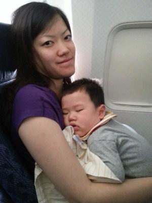 Finally asleep!