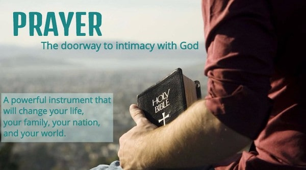 Prayer and Intercession are powerful tools, yes, but more importantly, they are doorways into an intimate relationship with God and stepping stones to changing the world for good. A powerful prayer warrior will focus on their relationship with God first!