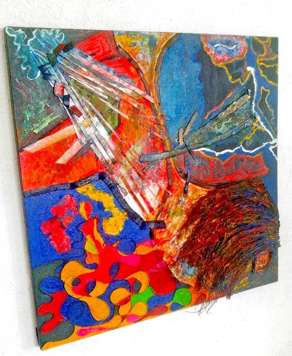 Modern Art 3d Sculpture Abstract Art Sculpture Painting Remolinos El Alma
