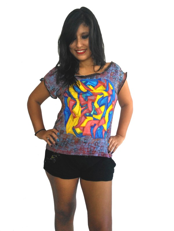 T-shirt Grafiti Tribal Niveles