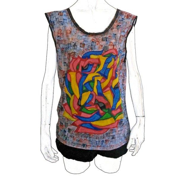 T-shirt Grafiti Tribal