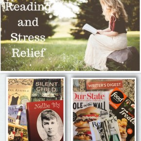 Ways to Reduce Stress.  Try Reading.
