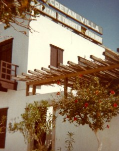 The Cretan Villa was so wonderful back then.
