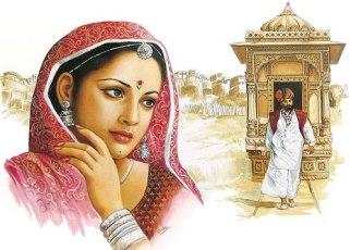 Rajasthani Painting Style