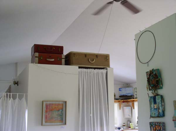 Studio Storage Suitcases, Kathleen O'Brien