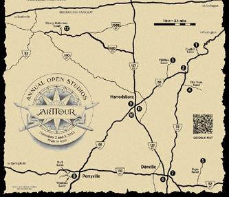 Open Studio Map