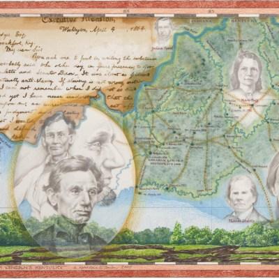 "Kathleen O'Brien, ""Abraham Lincoln's Kentucky"", giclee print"