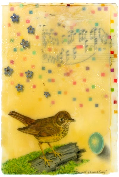Hermit Thrush Song, Giclee Print