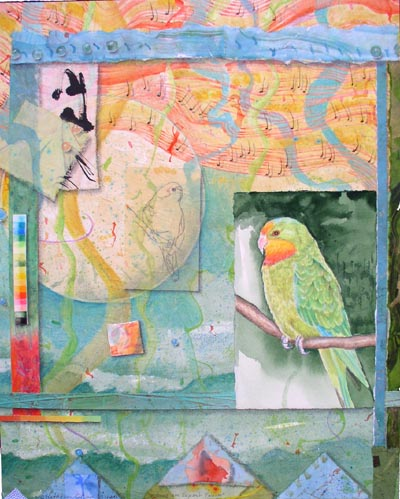 Song for Superb Parrot, Giclee Print