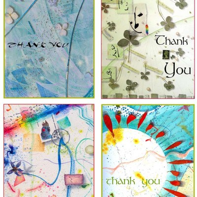 Thank You Card Set 2