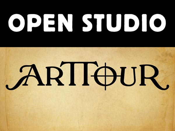 Look for this Annual Open Studios ARTTOUR Sign as you drive through the countryside