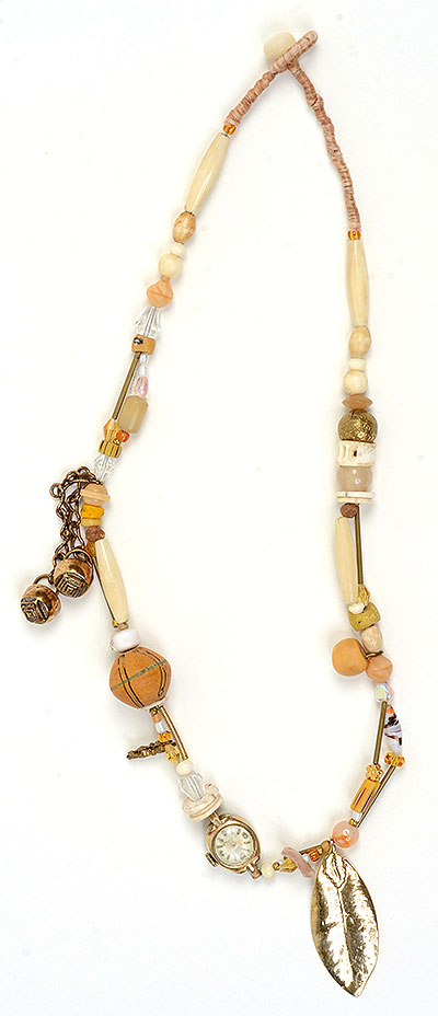 """Talisman for Being"" bead necklace Kathleen O'Brien"