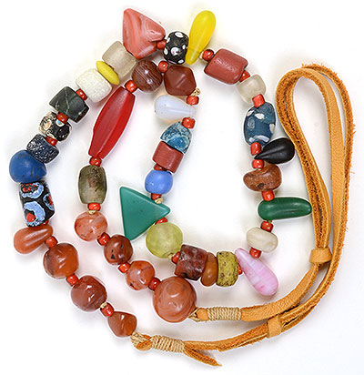 """""""Talisman for Grounding 1"""" necklace by Kathleen O'Brien"""
