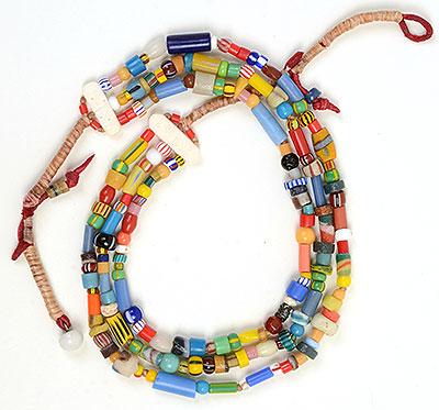 """Talisman for Joy 2"" bead necklace Kathleen O'Brien"