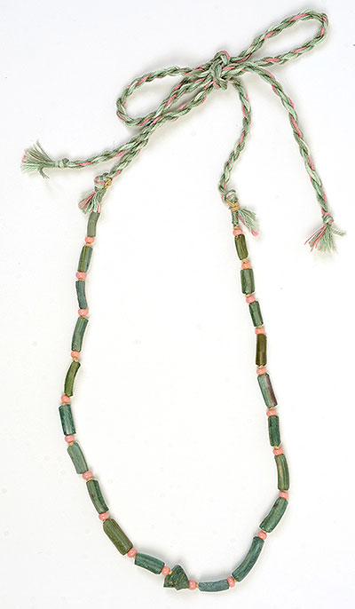 """""""Talisman for Strength"""" necklace by Kathleen O'Brien"""