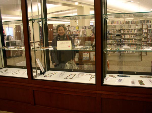 """Talismans"" by Kathleen O'Brien display at Mercer County Public Library"