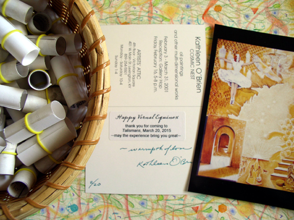 talisman gifts & 20 postcards from the archives by Kathleen O'Brien