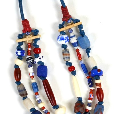 """""""Talisman for Arapahos"""" necklace by Kathleen O'Brien"""