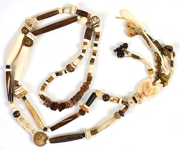 """""""Talisman for Wild Beasts"""" necklace by Kathleen O'Brien"""