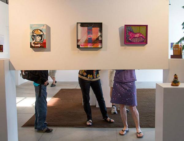 "Artist Friends at ""notBIG(3)"" Exhibit"