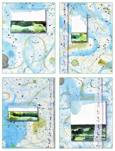 Little Landscapses Card Set Kathleen O'Brien