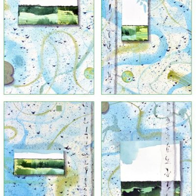 Little Landscapses Card Set Kathleen O'Brien