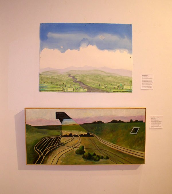 Artist Friends at Horizon: Contemporary Landscape reception